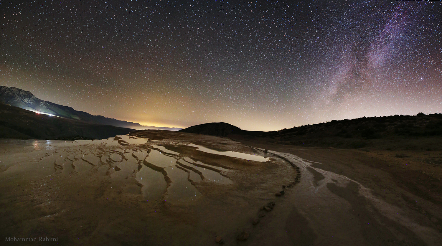Badab Soort at Night