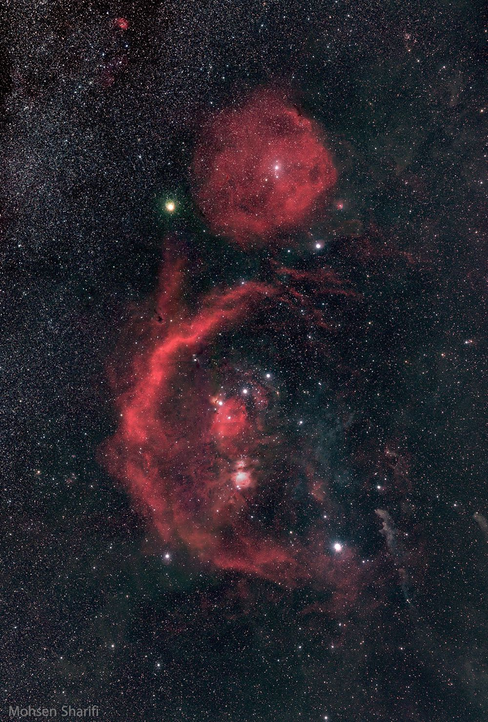 Orion clouds