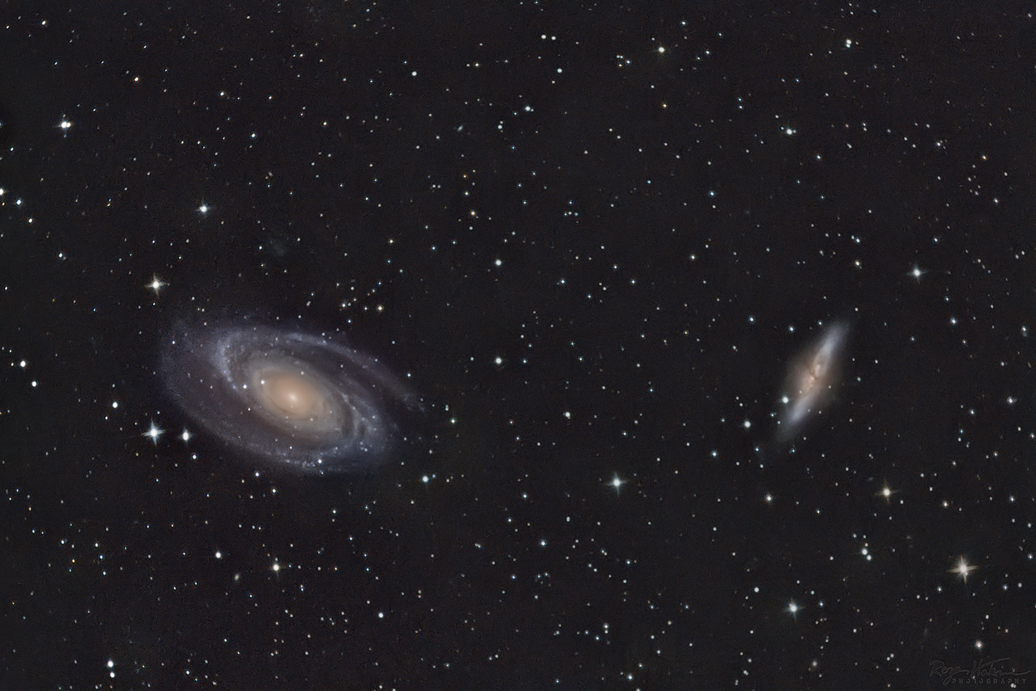 M81 & M82 - Bode and Cigar Galaxies