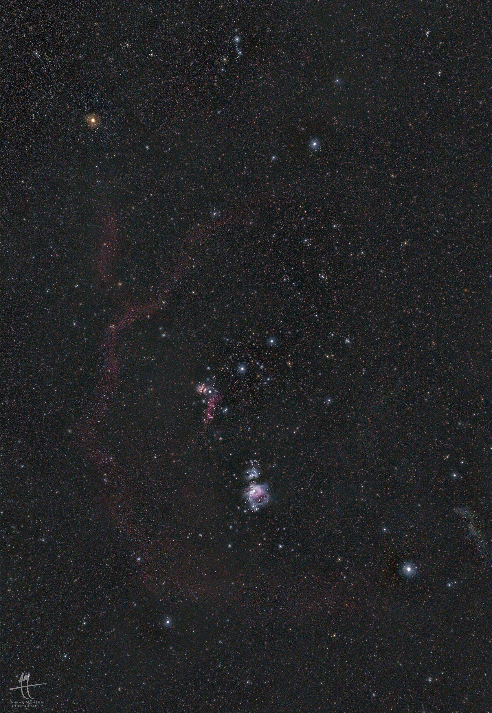 (Orion Clouds (with nikkor 55mm