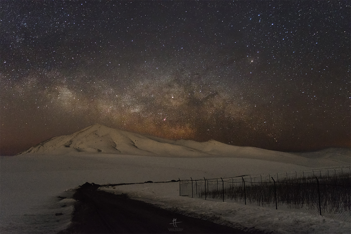 The open route to the milky way